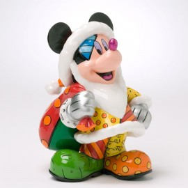 Disney By Britto - Mickey Mouse Christmas Figurine