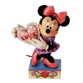 Disney Traditions by Jim Shore Minnie Mouse with Heart Figurine