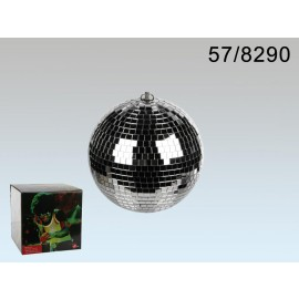 Mirror ball for hanging