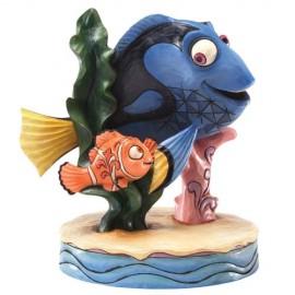 Disney Traditions - Floating Friendship - Nemo & Dory - Finding Nemo Figurine