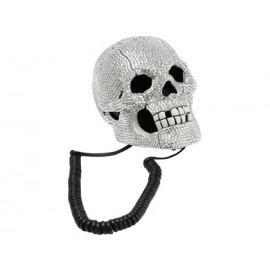 Telephone Skull Diamonds