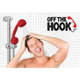 Off The Hook Telephone Shaped Hand Shower