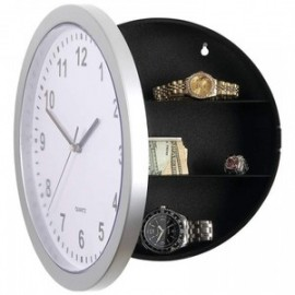 Wall Clock With Hidden Safe Box