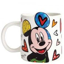 Disney by Britto Mugs- Mickey, Minnie, Donald Duck, Tinkerbell, Jiminy Cricket