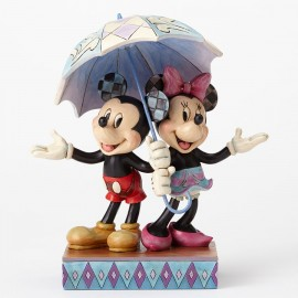 Rainy Day Romance Mickey Minnie
