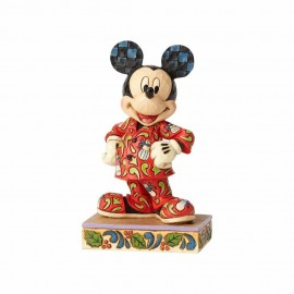 Magical Morning Mickey Comfort & Joy Minnie for Christmas Jim Shore
