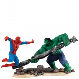 Spiderman Vs Hulk Figurine Marvel Collection