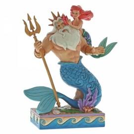 Daddy's Little Princess (Ariel & Triton Figurine)