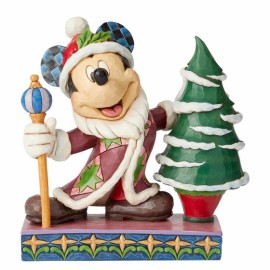 Jolly Ol St Mick Mickey Mouse Father Christmas
