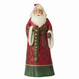 Santa Claus with Bells Figurine by Jim Shore