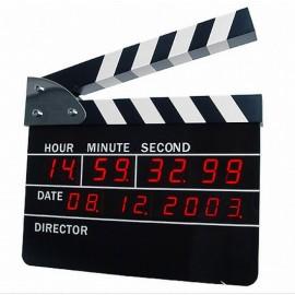 Clapboard Clock