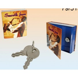 Safe Music Cd Box With Key