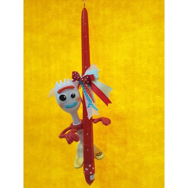 Λαμπάδα Forky Toy Story με την Αυθεντική Φωνή