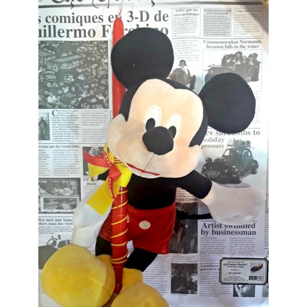 Λαμπάδα Μίκυ Disney Λούτρινο Μεγάλο