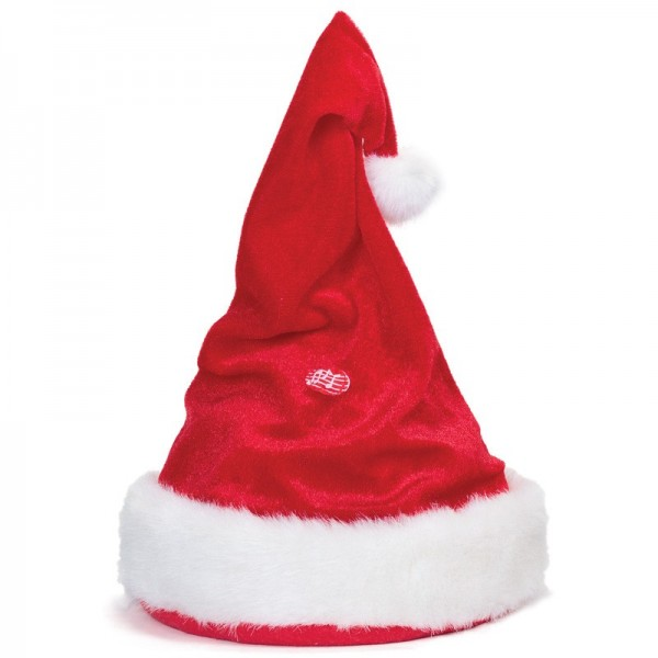 Χριστουγεννιάτικος Σκούφος Που Χορεύει Με Χριστουγεννιάτικο Τραγούδι