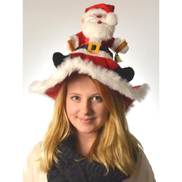 Χριστουγεννιάτικο Καπέλο Που Χορεύει Και Τραγουδάει