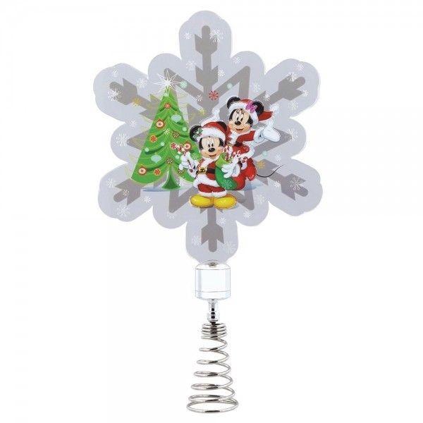Μίκυ και Μίν η Χριστουγεννιάτικη Κορυφή Δέντρου με Φως