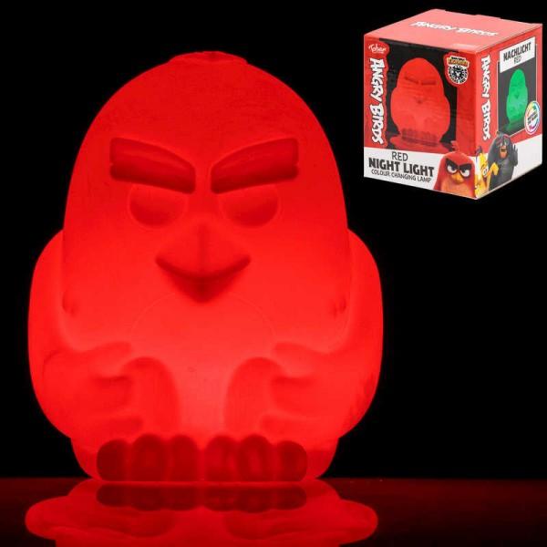 Φωτάκι Νυκτός Angry Birds Κόκκινο