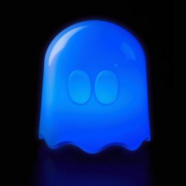 Φωτιστικό Pacman Φαντασματάκι με Χειριστήριο