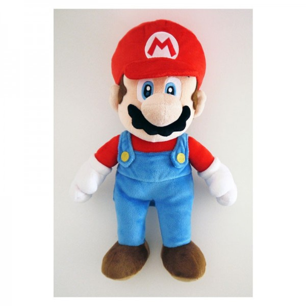 NINTENDO -Χνουδωτός Luigi και  Super Mario