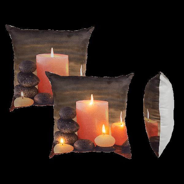 Μαξιλάρια με Κεριά με Φως Led