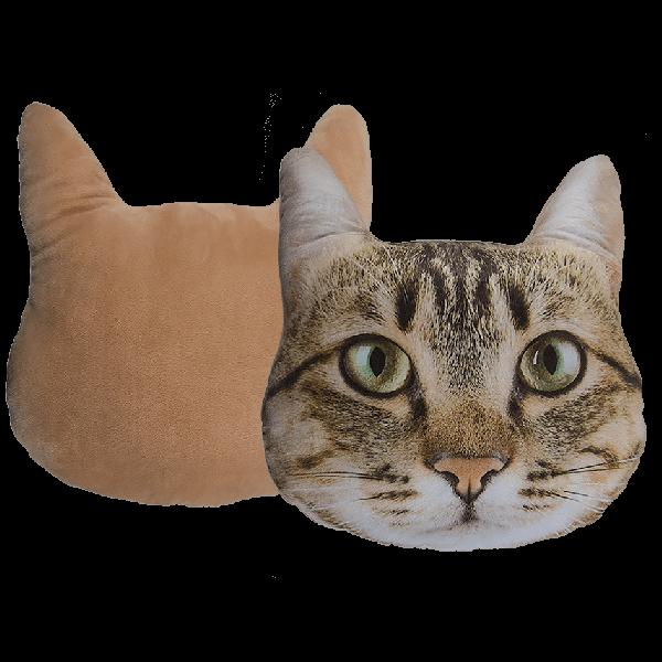 Μαξιλάρια Με Mπεζ Γάτα