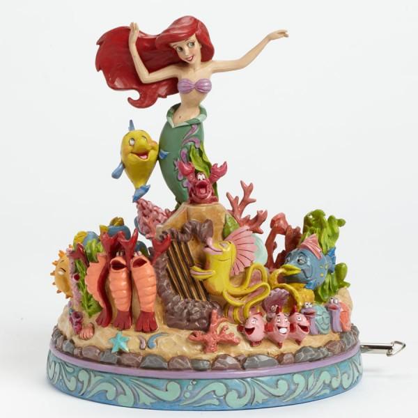 Jim Shore Disney- Η Μικρή Γοργόνα Αγαλματίδιο