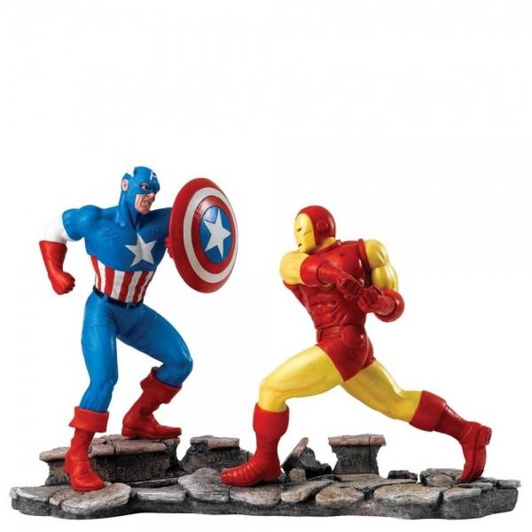 Ο Captain America εναντίον του Iron Man Συλλεκτικό Αγαλματίδιο από τη Disney- Marvel