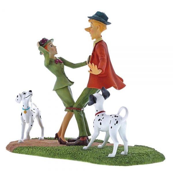 Τα 101 Σκυλιά της Δαλματίας σε Αγαλματίδιο από τη Disney