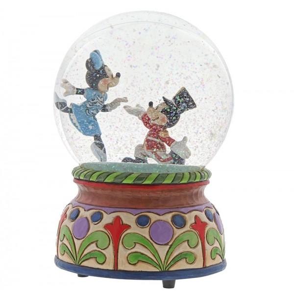 Disney Χιονόμπαλα Καρυοθραύστης με το Mickey και τη Minnie