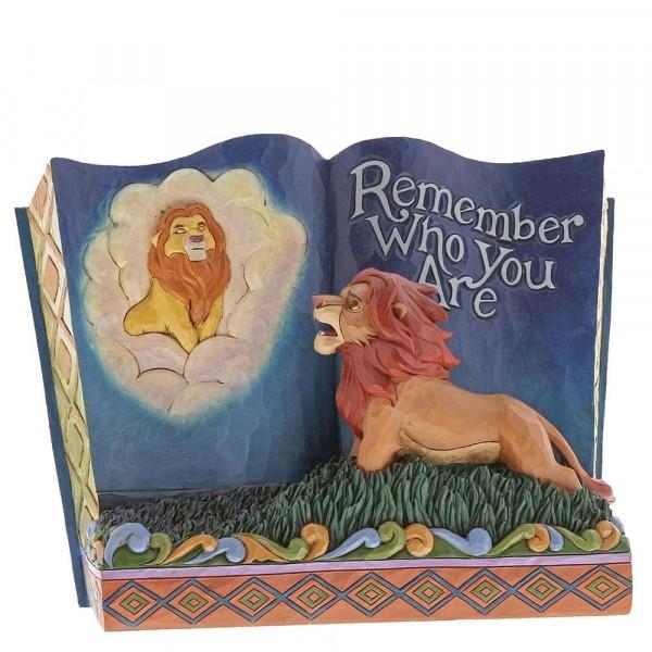 Disney Jim Shore- O Βασιλιάς των Λιονταριών (Storybook Lion King)