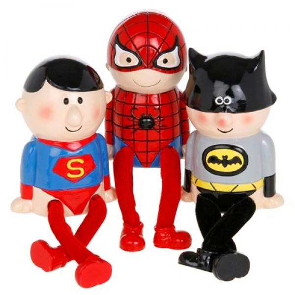 Λαμπάδα Superman, Spiderman, Batman Κουμπαράς