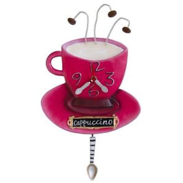 Ρολόι Τοίχου Φλυτζάνι Καφέ
