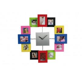 Ρολόι Τοίχου Με Κορνίζες Για Φωτογραφίες
