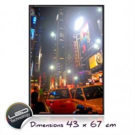 Πίνακας Νέα Υόρκη Με Leds