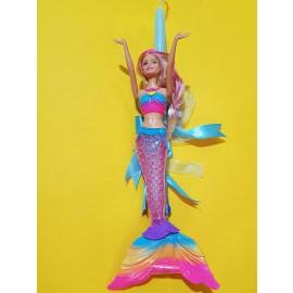 Λαμπάδα Barbie Κούκλα Γοργόνα