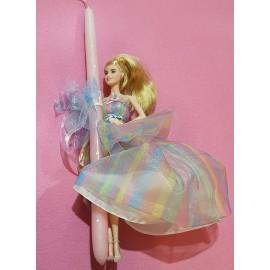 Λαμπάδα Barbie Συλλεκτική Κούκλα