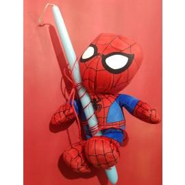 Λαμπάδα Spiderman Λούτρινο Mεγάλο