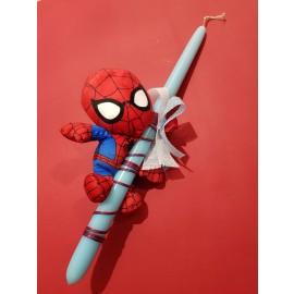 Λαμπάδα Spiderman Λούτρινο