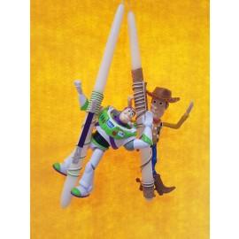 Λαμπάδα Toy Story Woody Buzz