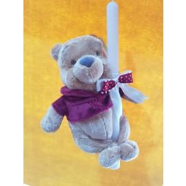 Λαμπάδα Winnie The Pooh Λούτρινο