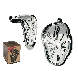 Melting Clock Το Ρολόι που Λιώνει.