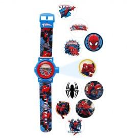 Ρολόι Χεριού Spiderman Προτζέκτορας