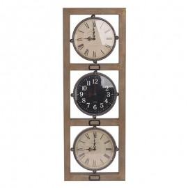 Ρολόι Τοίχου Παγκόσμιος Ώρα