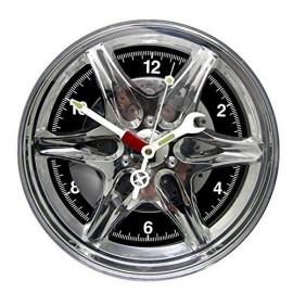 Ρολόι Ζάντα Αυτοκινήτου Leds Μπλε