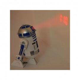 R2D2 Ρολόι Ξυπνητήρι Προβολέας Ώρας