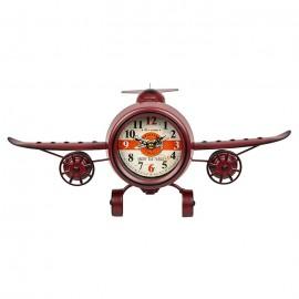 Ρολόι Μεταλλικό Αεροπλάνο