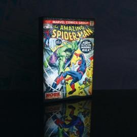Φωτιζόμενο Κάδρο Marvel με τον Spiderman