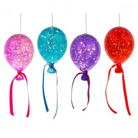 Μπαλόνι Φωτιστικό Γυάλινο με Led