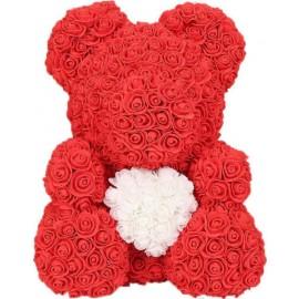 Ροζ Τριανταφυλλένιο Αρκουδάκι